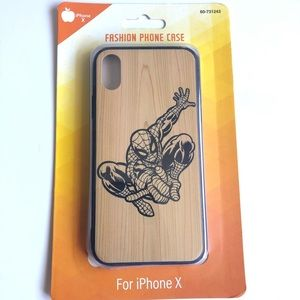Other - iPhone X Spider-Man Phone Case
